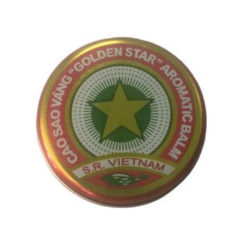 Cao Sao Vang Vietnamese Gold Star Balm Tin