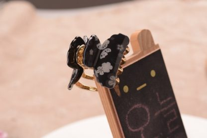 Black Small Acrylic Hair Claw