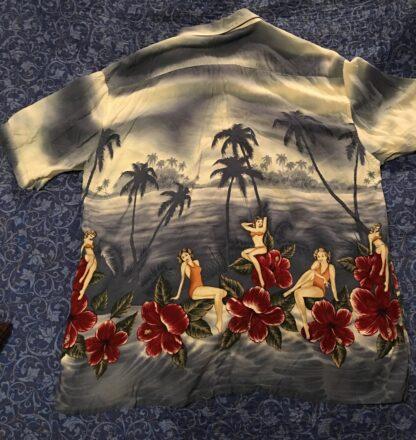 Back Croft & Barrrow Hawaiian Shirt