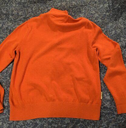Back Orange Tommy Hilfiger Sweater