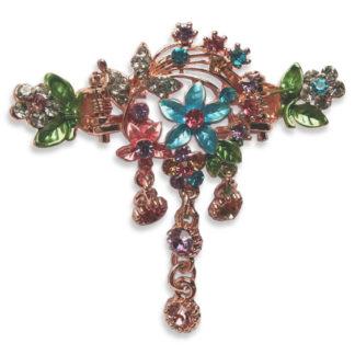 Multi Flower Bouquet hair clip