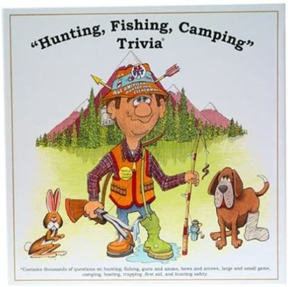 Hunting, Fishing, Camping Trivia Game