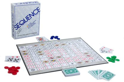 Sequence Board Game Contents