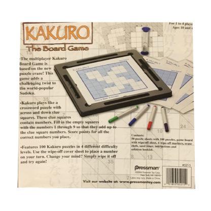 Karuko The Board Game back