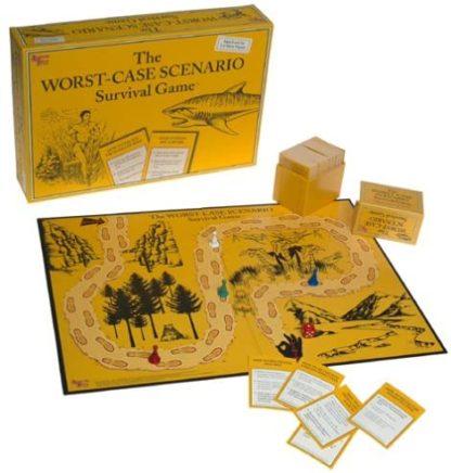 The Worst Case Scenario Game Board