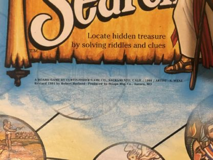 Bible Search Board Game Closeup