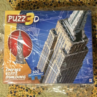 3d empire state building puzzle