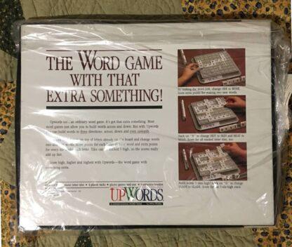 upwords board game box back