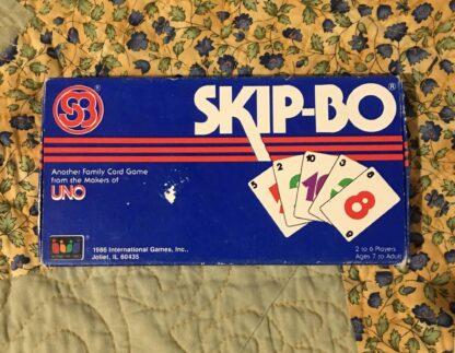 skip-bo card game box front
