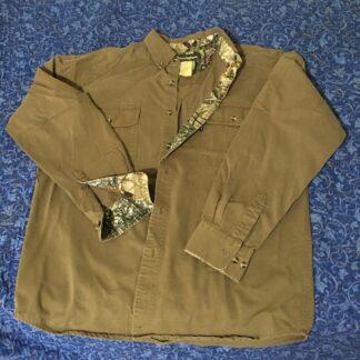 Remington Button Down Shirt Olive Green