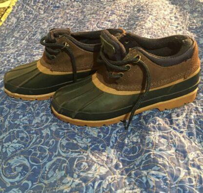 G H Bass & co rain shoes