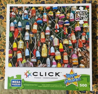 Lobster Buoys Puzzle front