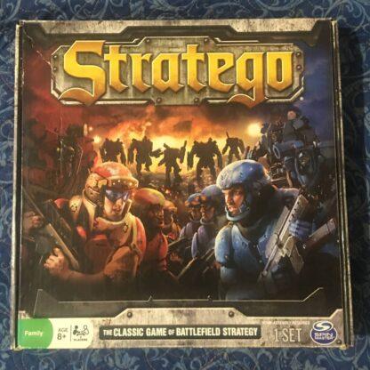 Stratego Board Game Box