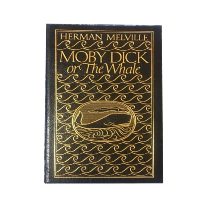 Moby Dick or The Whale Leather Bound Front Cover