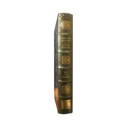 Think and Grow Rich Leather Bound Book Spine