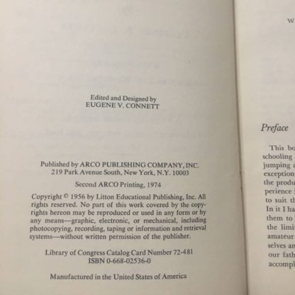 schooling your horse copyright page