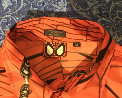 Marvel Spiderman Shirt Collar