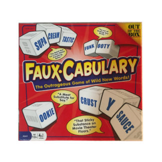 Faux-Cabulary Board game