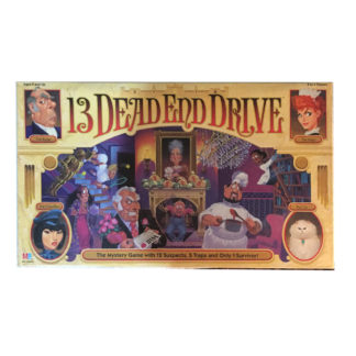 13 Dead End Drive Board Game