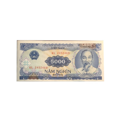 5,000 Dong Vietnamese Note Currency