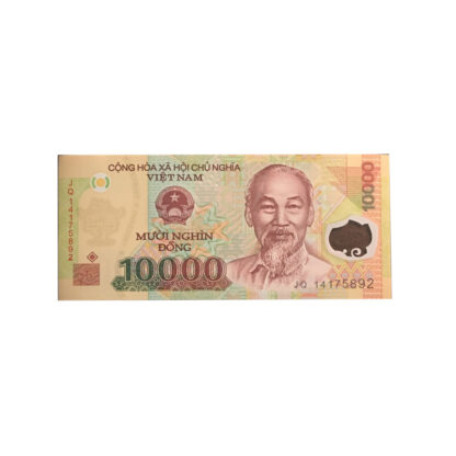 10,000 Dong Vietnamese Note Currency