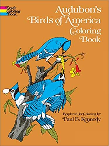 Audubon Birds of America Coloring Book