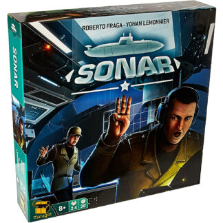 Sonar The Submarine Board Game