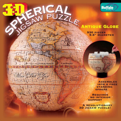 Antique Globe 3D Puzzle