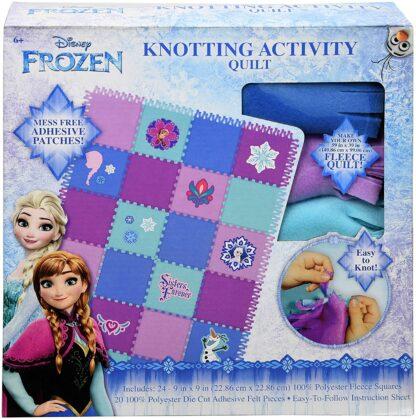 Disney Frozen Knotted Quilt Kit